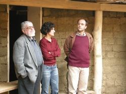 Ana Maria Goilav, Petre Guran şi Andrei Pleşu la tabăra de la Buneşti